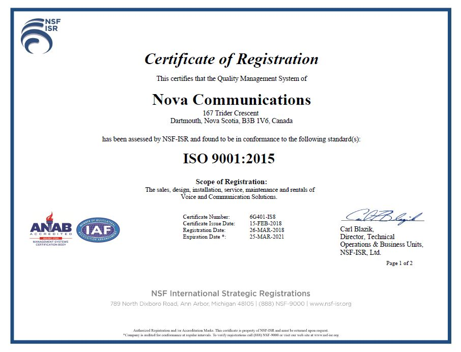 We Achieved ISO 9001: 2015 Standard  Here's Why it Matters
