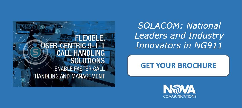 Nova Communications Solacom Brochure NG911